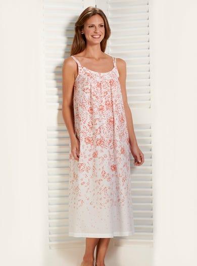 0891 - Apricot - Federleichtes Nachtkleid