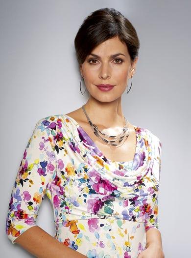 6123 - Geheimnisvoller Garten - Elegantes Jerseykleid für den besonderen Anlass