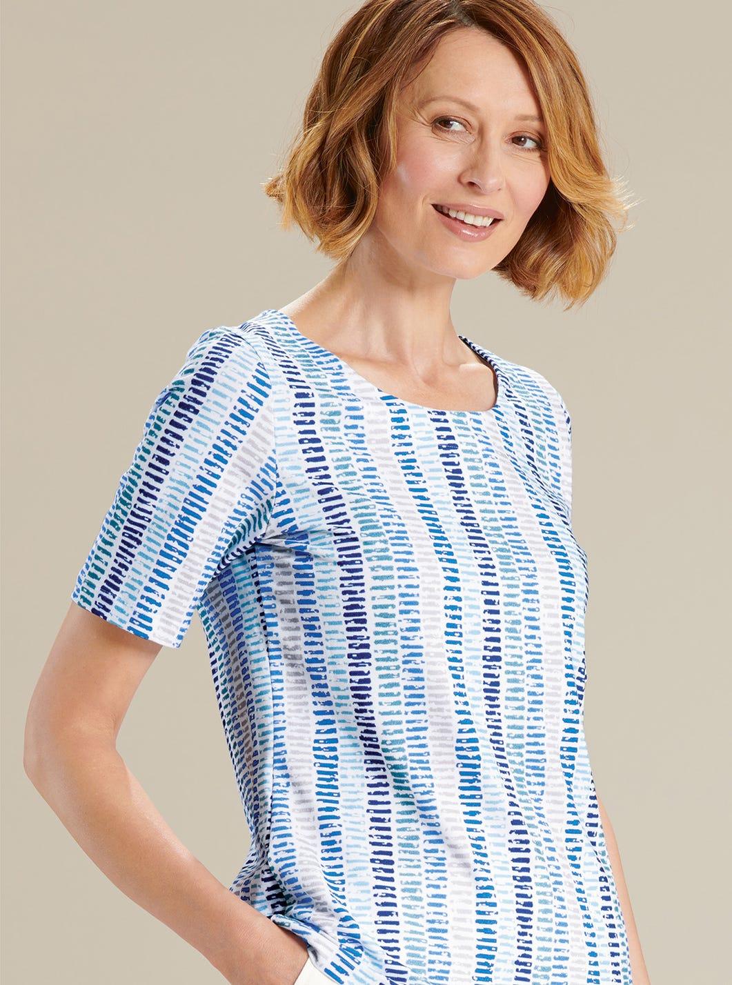 T-shirt essentiel imprimé