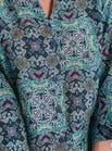 Luxuriöses Shirt aus Baumwolle und Seide