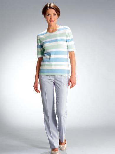 9189 - Mintgrün - Pulli aus reiner Baumwolle