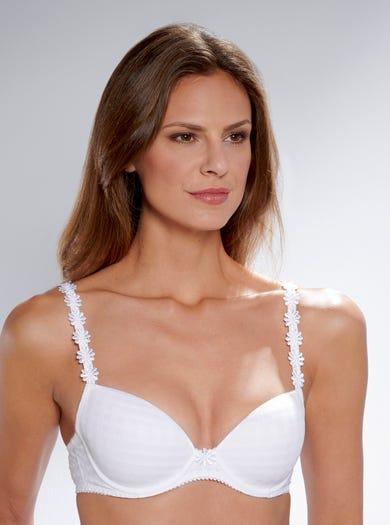 9420 - Weiß - 'Avero' T-Shirt-BH für jeden Tag