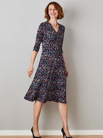 Feines Jerseykleid