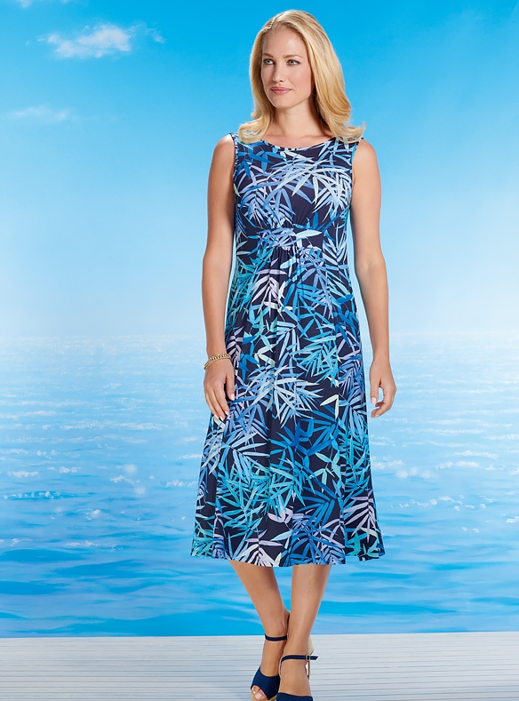 Luxuriöses Kleid mit Bolero