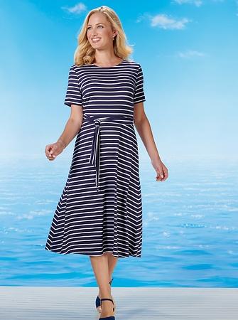 Kleid aus Stretchjersey