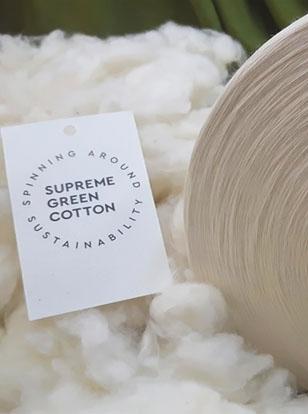 Du coton écoresponsable